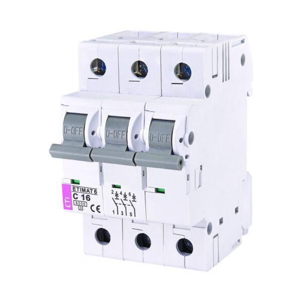 Automatski osigurač ETI 16A 3p C