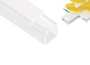 PVC kanalica samolepljiva 25x25 2m